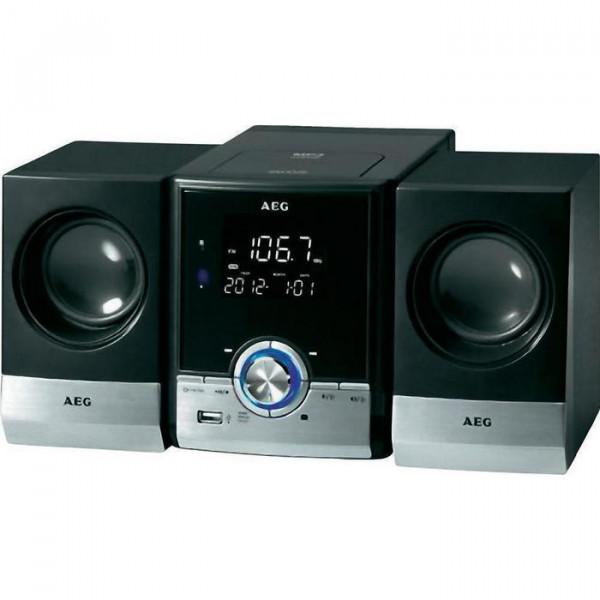 Στερεοφωνικό σύστημα AEG Music center CD / MP3 και λειτουργία Bluetooth