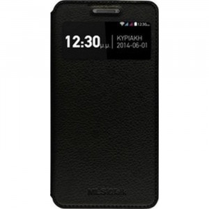 MLS SMART COVER CASE BLACK FOR IQTALK S8.