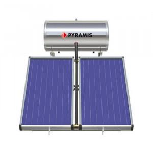 Pyramis 160lt / 3m² Επιλεκτικού συλλέκτη Διπλής Ενέργειας Θερμοσίφωνας